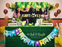 backdrop panel and name jungle theme jungletheme birthdayparty
