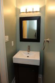 Diy Powder Room Remodel - diy powder room makeover and removing the builder u0027s mirror