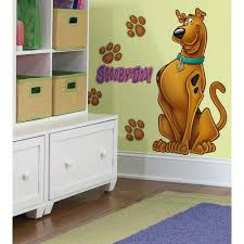 scooby doo giant wall stickers new peel and stick decals great scooby doo giant wall stickers new peel and stick decals great dane decorations ebay