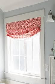 Bathroom Window Ideas by Best Faux Roman Shades Ideas On Pinterest Kitchens Bathroom Window