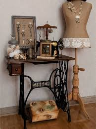 Sewing Machine With Table 22 Reuse And Recycle Ideas To Create Small Tables With Vintage