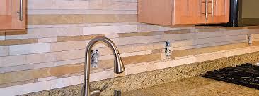 Mosaic Backsplash Travertine Mosaic Backsplash With Brown Glass - Travertine mosaic tile backsplash