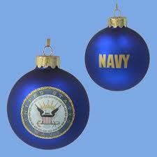 navy ornaments chrismas 2017