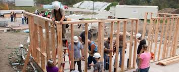 build on site homes plu works with local habitat for humanity to build lasting