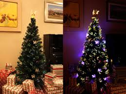 awe inspiring multi colored pre lit tree 7 trees 6 light