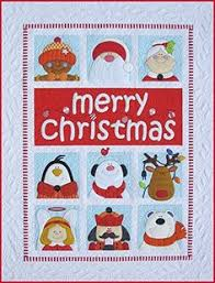 merry christmas quilt holiday quilting book applique ideas