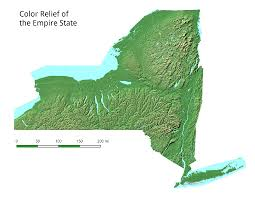 Map Of New York State by Ny Topography U2013 Andy Arthur Org