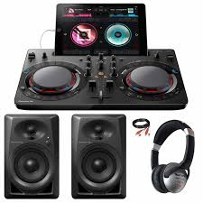pioneer home theater systems pioneer ddj wego4 k compact dj software controller black with dm