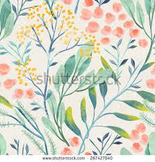 Flower Designs On Paper Vintage Floral Pattern Stock Images Royalty Free Images U0026 Vectors