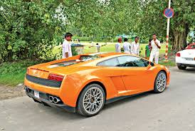 first lamborghini lamborghini gallardo india serie speciale lp550 2 a limited