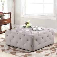 large leather tufted ottoman outstanding square tufted ottoman square leather tufted ottoman