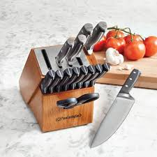 kitchen self sharpening kitchen knife inside beautiful calphalon