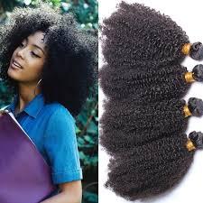 bohemian hair weave for black women grade 7a afro kinky curly human hair weaving for black women
