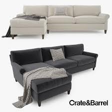 crate and barrel sofa bed amusing davis queen sleeper sofa crate