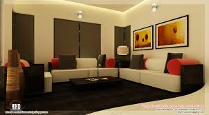 exclusive small house interior design in kerala 1 interior design