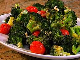barefoot contessa roasted broccoli roasted broccoli with cherry tomatoes recipe the neelys food network
