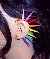 how to make feather ear cuffs 79 best ear cuffs feather earrings feather ear cuffs spiked
