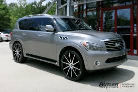 infiniti qx56 black infiniti qx56 with 26in lexani css15 wheels exclusively from