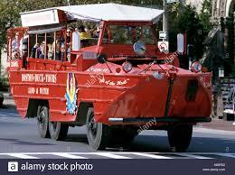 amphibious rescue vehicle duck boat tour amphibious vehicle city street boston