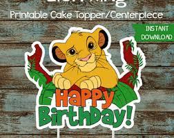 Lion King Decorations Lion King Birthday Etsy