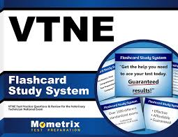 vtne flashcard study system vtne test practice questions u0026 review