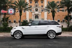 rose gold range rover range rover sport with hre 943rl in brushed clear hre