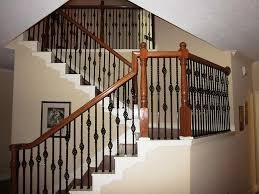 stair entrancing home interior decor with half turn staircase