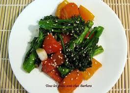 cuisine vietnamienne recette de légumes sautés à la vietnamienne