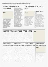 free newspaper layout template indesign resume free newspaper template pack for word perfect for