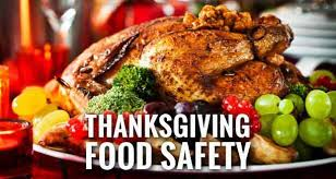 thanksgiving food safety tips from the experts