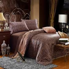 sexy bedroom sets black and tan sexy animal themed leopard print 100 egyptian cotton