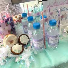 doc mcstuffins party ideas water bottles from a frozen doc mcstuffins birthday party