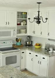 how to paint my kitchen cabinets white how to re paint your yucky white cabinets the frugal homemaker
