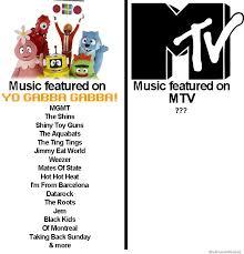 Mtv True Life Meme Generator - music featured on yo gabba gabba vs music featured on mtv