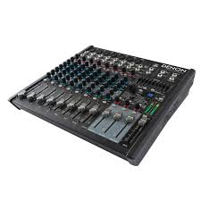 Mixing Table Denon Pro Dn 412x 12 Channel 2 Bus Tabletop Mixer Idjnow