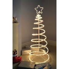 werchristmas 3d spiral tree rope light