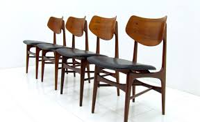 dining chair awful vintage leather seat dining chairs