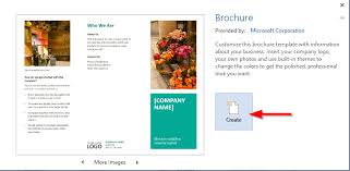 template to make a brochure how to make a brochure in open office