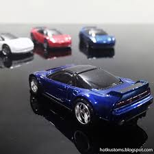jdm acura nsx kustoms mini cars 2016 u002790 acura nsx super treasure hunt