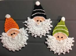 christmas craft ideas beauty santa face crochet ideas make