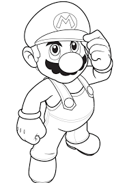 super mario coloring pages educational fun kids coloring pages