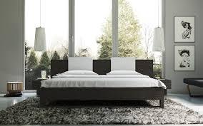 Harmony Platform Bedroom Set Sora Japanese Platform Bed In Wenge Espresso Haiku Designs