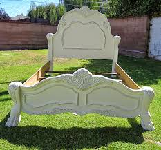 Shabby Chic White Bed Frame by Bed Frames Nagevoce Eco Finished Furniture