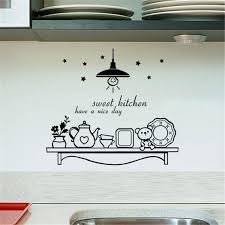 Kitchen Cabinet Decals Compare Prices On Wall Decals For Kitchen Online Shopping Buy Low