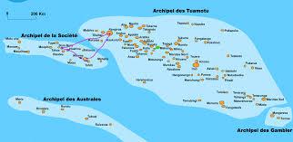 Tahiti Map World by Aca World Trip