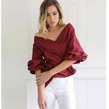 White Blouse With Black Bow Compare Prices On Blouse Bow Online Shopping Buy Low Price Blouse