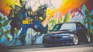stance bmw m3 download wallpaper e36 bmw m3 blue stance bmw tuning