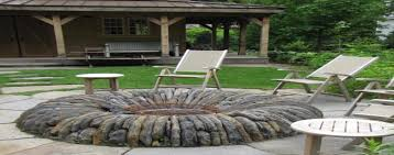 Flagstone Firepit Flagstone Pit Expensive Yet Beautiful