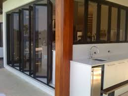 Patio Bi Folding Doors by Sliding And Stacking Patio Door Folding Aluminum Double