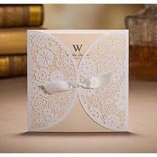 Wedding Pocket Envelopes Amazon Com Wishmade 50 Count Set Laser Cut Invitations Cards Kits